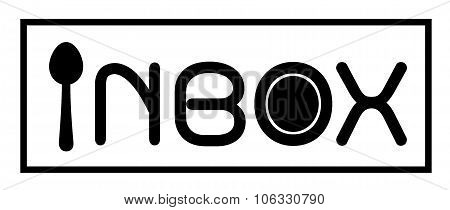 Inbox Logo With Spoon