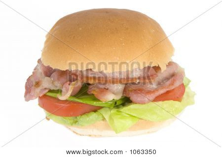 Bacon ,Lettuce And Tomato Sandwich