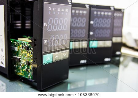 Close Up Electronic Equipment
