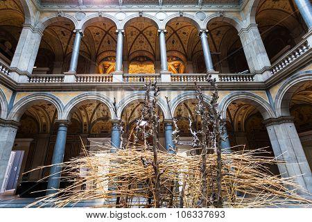 Hall Of Mak Austrian Museum Of Applied Arts Vienna