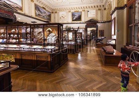 Halls Of Naturhistorisches Museum, Vienna