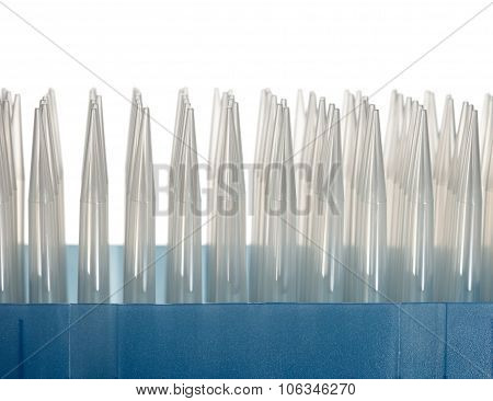Pack Of Plastic Dropper Tips
