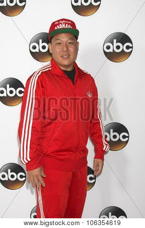 LOS ANGELES - JAN 14:  Eddie Huang at the ABC TCA Winter 2015 at a The Langham Huntington Hotel on January 14, 2015 in Pasadena, CA