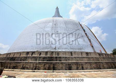 Anuradhapura, Dagoba Ruvanvelisaya,