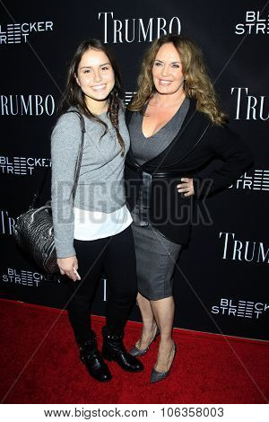LOS ANGELES - OCT 27:  Sophia Bach, Catherine Bach at the
