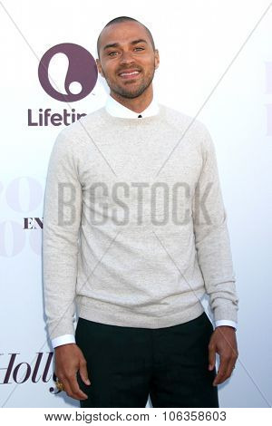 LOS ANGELES - DEC 10:  Jesse Williams at the 23rd Power 100 Women in Entertainment Breakfast at the MILK Studio on December 10, 2014 in Los Angeles, CA