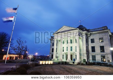 Old Boone County Courthouse In Columbia