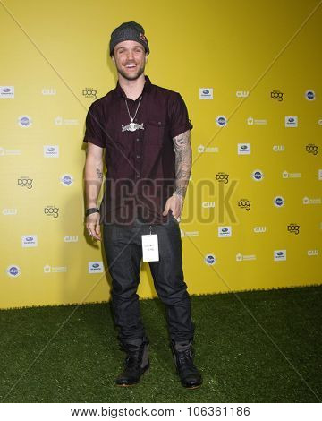 LOS ANGELES - JAN 10:  Louie Vito at the CW Network presents