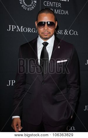 LOS ANGELES - OCT 26:  Terrence Howard at the Paley Center's Hollywood Tribute to African-Americans in TV at the Beverly Wilshire Hotel on October 26, 2015 in Beverly Hills, CA