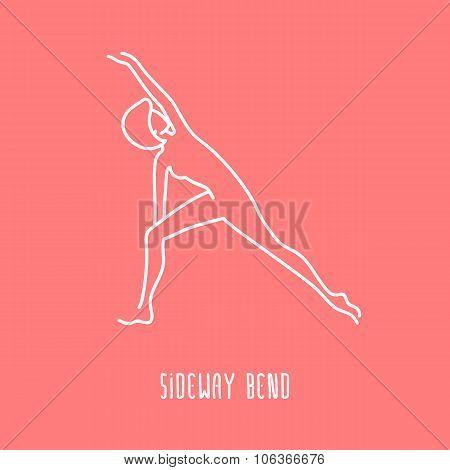 Yoga Linear Icon