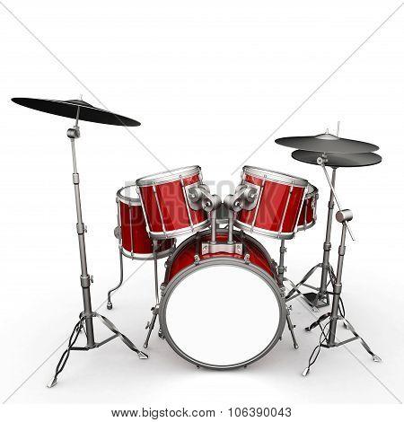 Drumset Illustration