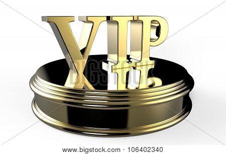 Gold Vip On Podium