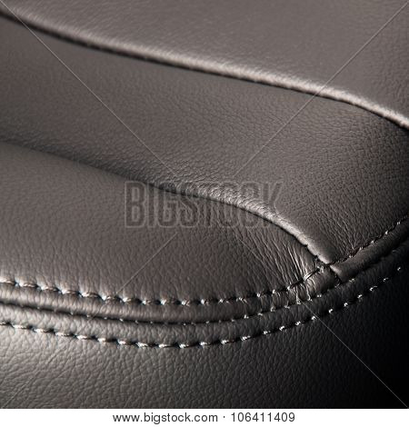 Seat leather interior
