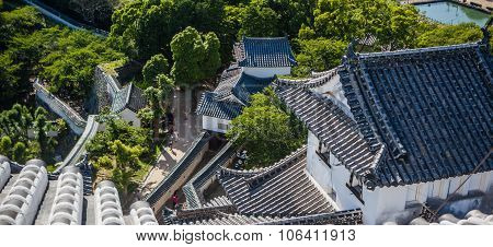 Roofs of Himeji Castle