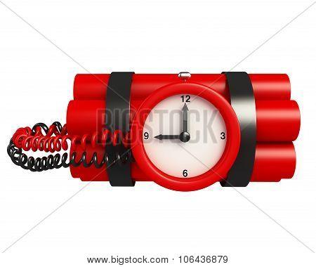 Time Bomb Illustration