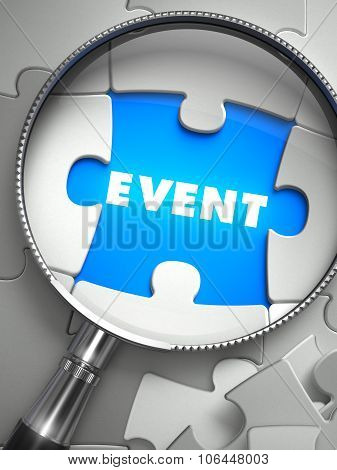 Event through Lens on Missing Puzzle.