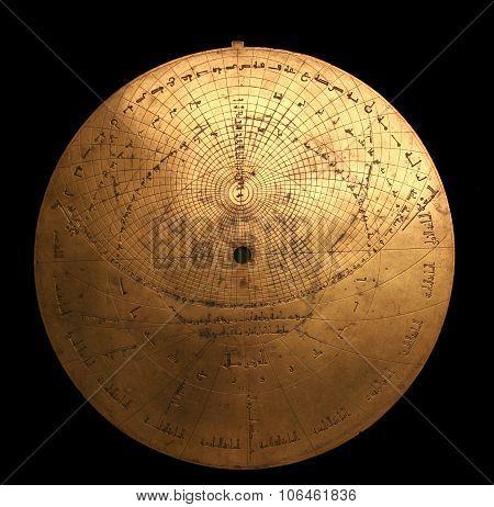 Medieval Arabic Astrolabe