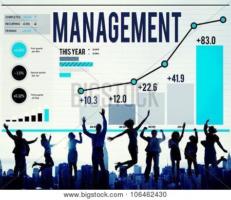 Management Organization Strategy Tactics Solution Concept poster