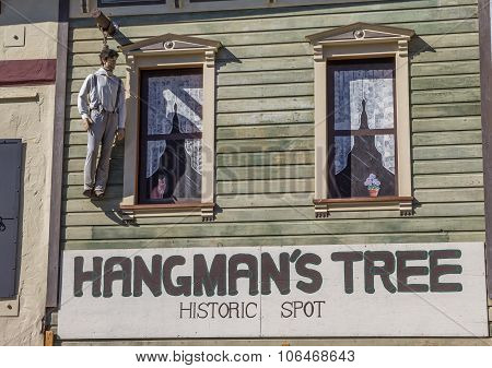Hangmans Tree Historic Spot In Placerville