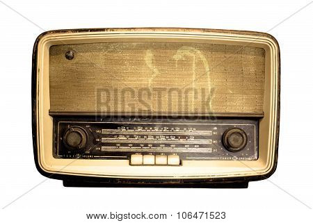 Old Radio, Antique Brown Radio