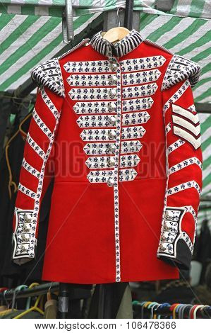 Red Uniform Coat