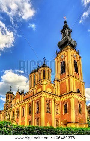 Serbian Orthodox Cathedral in Sarajevo - Bosnia and Herzegovina poster