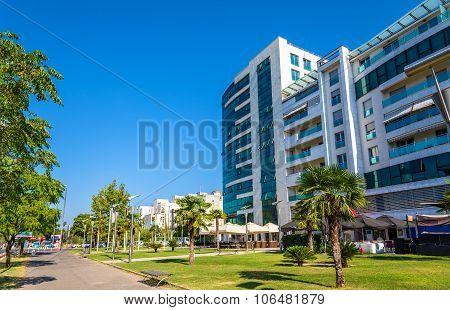 Buildings In The City Centre Of Podgorica - Montenegro