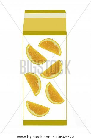 carton of fresh orange juice