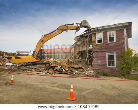 House demolition