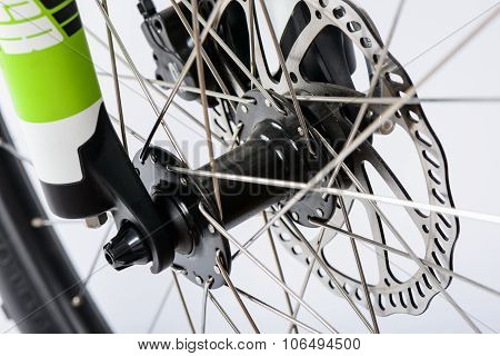 Hydraulic Disk Brake And Wheel Hub
