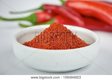 Korean Chili Pepper Powder And Chili Pepper