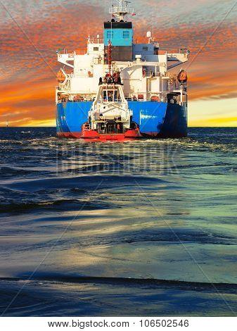 Tanker Rear View