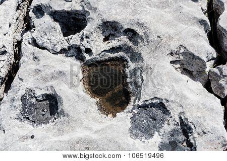 Uniquely Stark Beautiful Karst Landscape Of The Burren