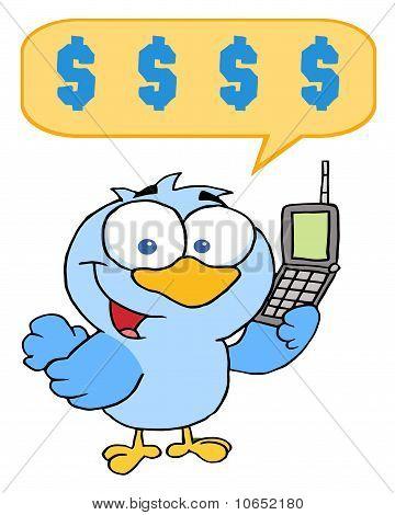 Bird Calling With A Dollar Balloon
