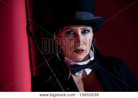 Wicked Female Ringmaster