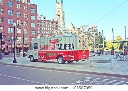 Sabroso Taqueria Food Truck