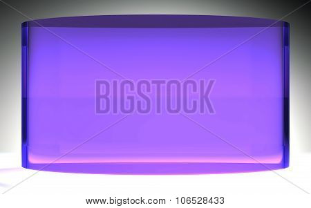 Futuristic Liquid Crystal Display Panel Purple