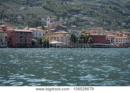 Oldtown Of Malcesine At Lake Garda, Italy