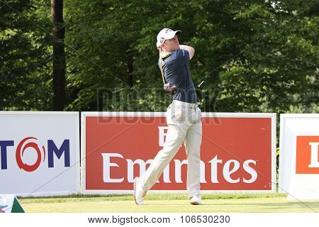 David Horsey (eng) At  The Golf French Open 2015