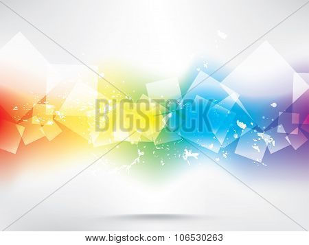 Abstract background with colored elements. Abstract vector illustration with background.