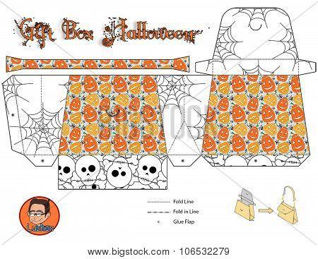 Gift Box Halloween