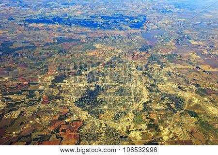 Wichita Falls From Top