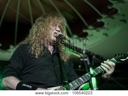 Megadeth live in Brisbane, October 2015