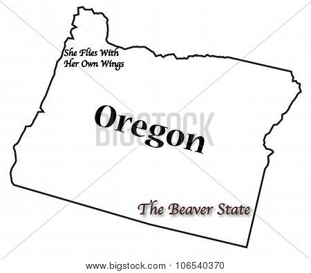 Oregon State Motto And Slogan