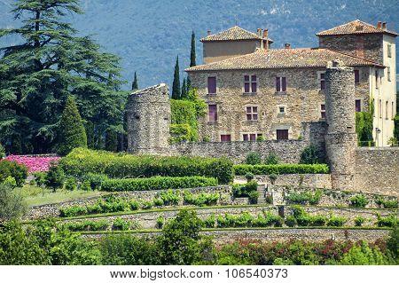 Castle Of Bousquet (france)
