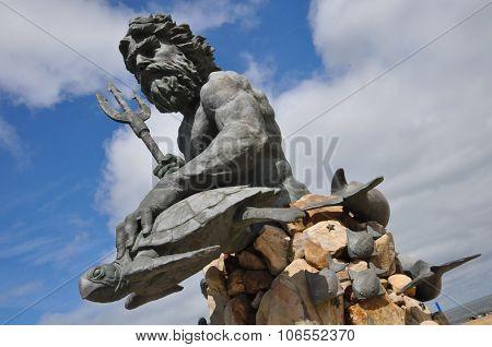 King Neptune Statue at Virginia Beach