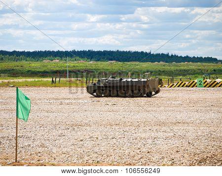 Light armored multi-purpose transporter (MT-LB)