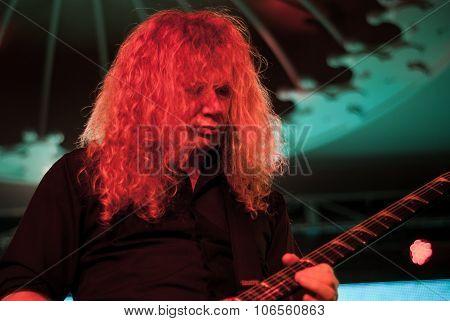 Megadeth live in Brisbane October 2015