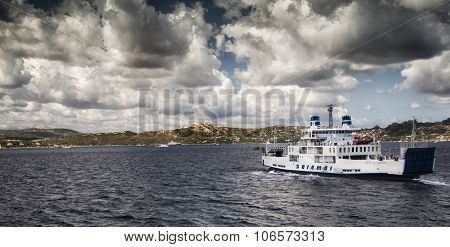 saremar ferry in Sardinia