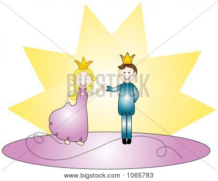 Dancing Royal Couple